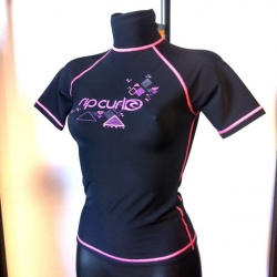 RIP CURL Lycra-Top polypro manches courtes