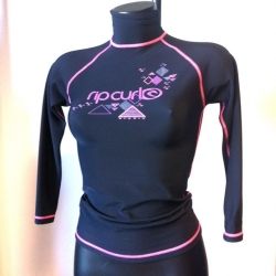 RIP CURL Lycra-Top polypro manches longues