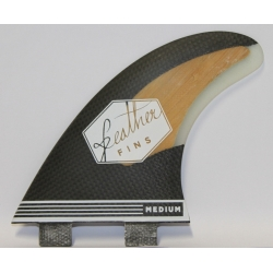 FEATHER FINS Carbone / Bambou Thruster FCS