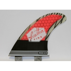 FEATHER FINS Super Light Rouge Thruster FCS