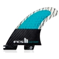 FCS II Performer PC Carbon Medium Tri Fins Set
