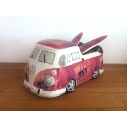 OLA-KETAL Tirelire Combi Pick Up Vintage girl (Ola-Ketal)