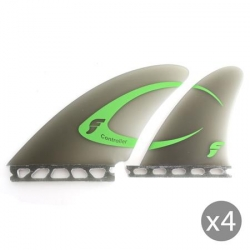 FUTURES FINS Derives Controller quad fiber glass