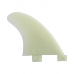 FCS GL Natural Glass Side Fin set
