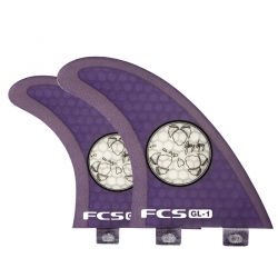 FCS SUP G. Lopez PC Quad fin set