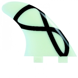 FCS M7 Glass Flex Tri Fin Set (FCS)